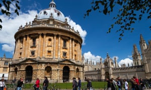 Radcliffe Square, Oxford: between 2010 and 2015, just 6% of Oxbridge admissions were to students with parents in unskilled and semi-skilled work