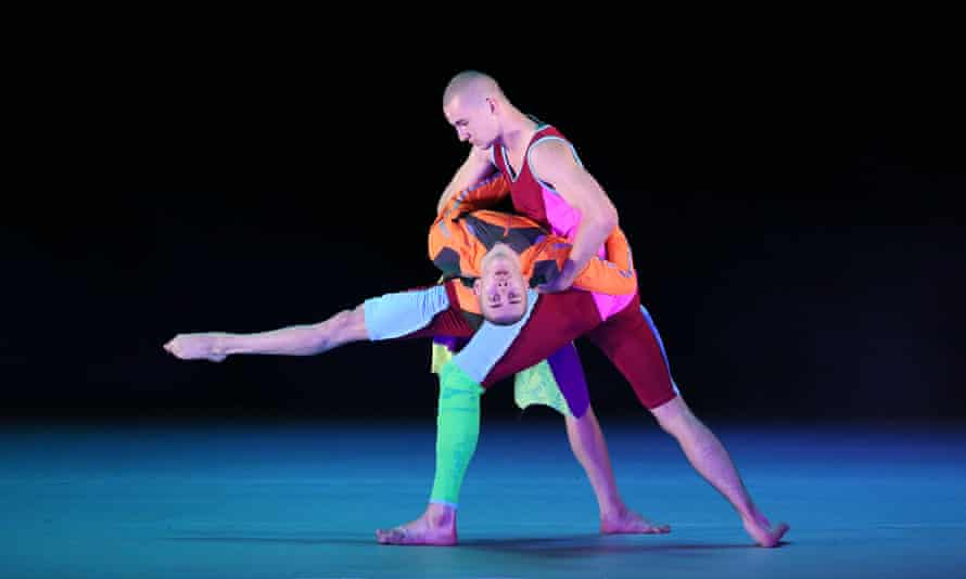 Dance is integral … members of Company Wayne McGregor in Orpheus and Eurydice at the Coliseum, London.