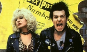 Chloe Webb and Gary Oldman in Sid and Nancy, which has been rereleased.