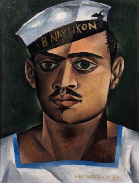 John Craxton's Head of a Greek Sailor, 1940