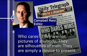 Campbell Reid defends the Daily Telegraph on Media Watch.