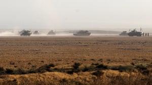 Iraqi forces advance towards Mosul