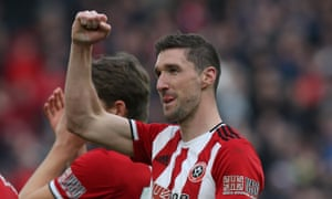 """Nicknamed """"Bashambauer"""", Sheffield United's Chris Basham has been a rock at the heart of the defence this season."""