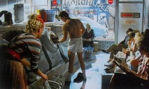 Levi's 501 commercial with Nick Kamen (Laundrette, 1985).