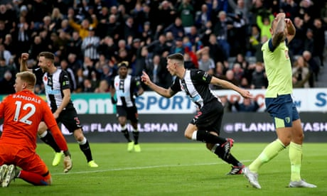 Ciaran Clark caps resurgent Newcastle's fightback against Bournemouth