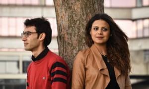 Enana AlAssaf with her husband at UEA.