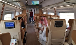 The new service will halve the journey time between Mecca and Medina.