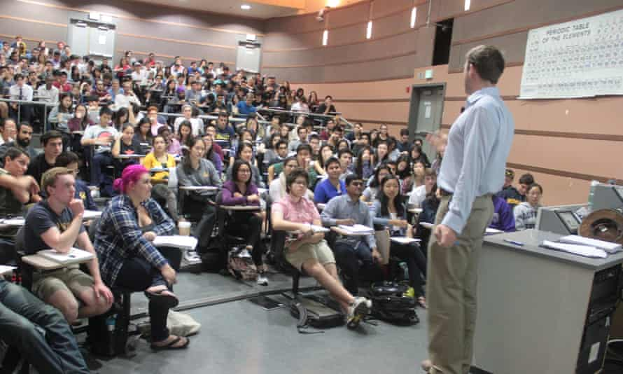 Alexander Coward teaching at Berkeley University