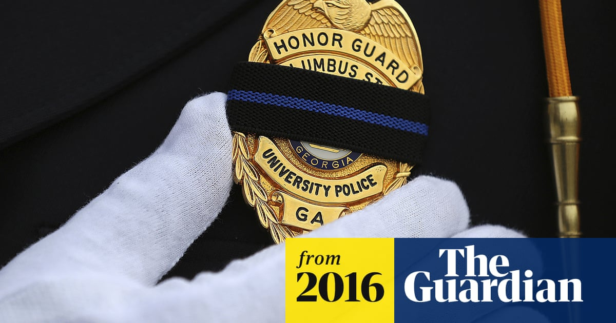 More US police officers killed in 2016 – but number still below 10