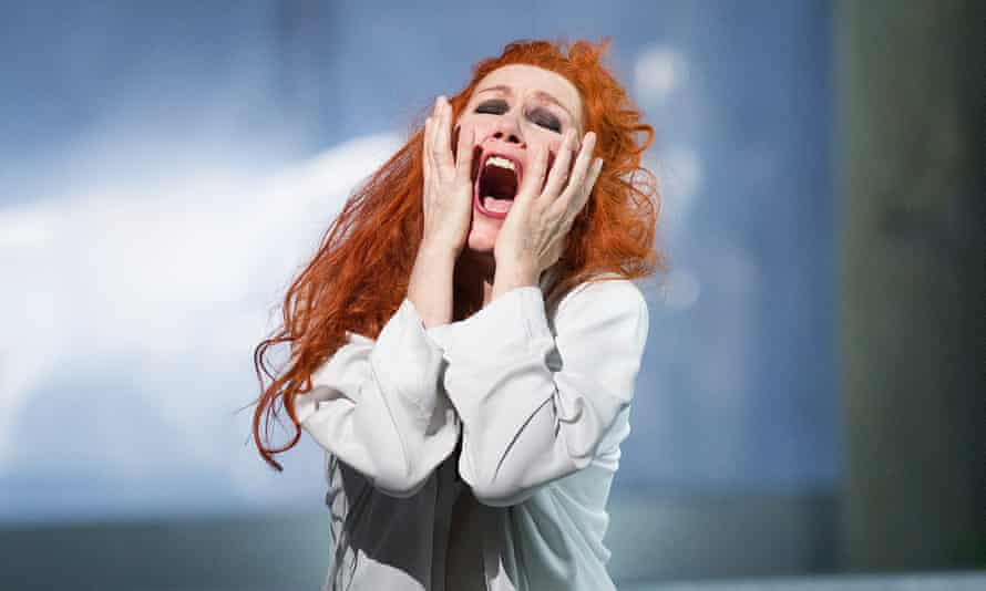 Angela Denoke as Kundry in Wagner's Parsifal in the Royal Opera House's 2013 production.