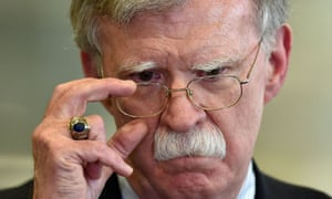 The former national security adviser John Bolton reportedly described the Trump administration's approach to Ukraine as a 'drug deal'.
