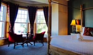 A room at the Royal Valentia, Ireland.