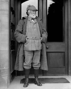 Steel magnate and philanthropist Andrew Carnegie.