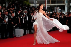 Cannes, France Alessandra Ambrosio arrives for the screening of 'The Dead Don't Die' and the Opening Ceremony of the 72nd annual Cannes Film Festival