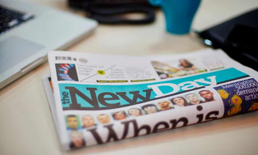 A dummy issue of The New Day, an 'upbeat, optimistic, impartial' title.