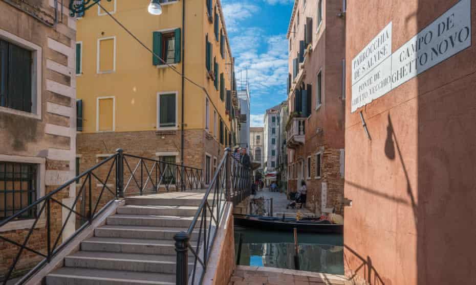 Ponte de Ghetto Vecchio, Cannaregio, Venice