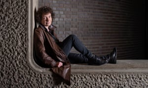 Jeanette Winterson at the Barbican in London.