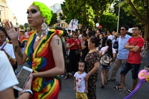 People at Hanoi Pride 2019
