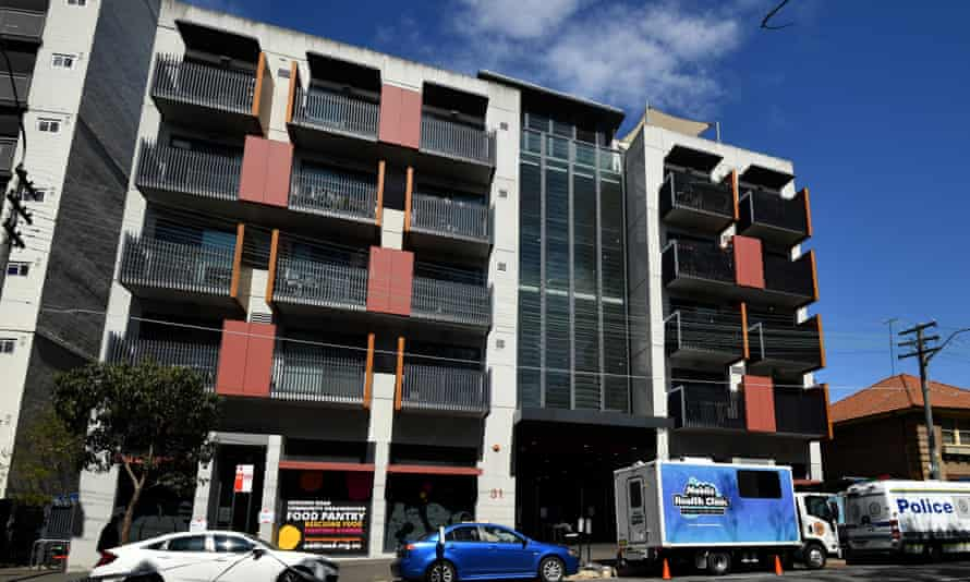 The Common Ground Towers social housing estate at Camperdown in Sydney