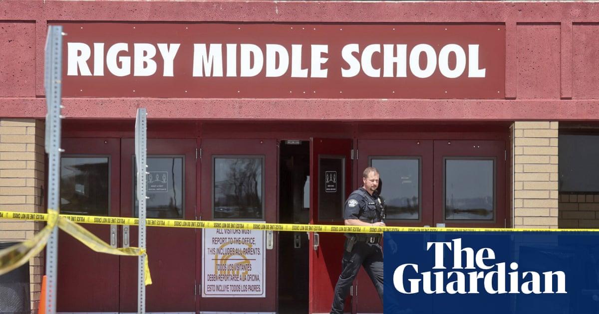 Three injured after sixth-grade girl shoots three at Idaho middle school – video