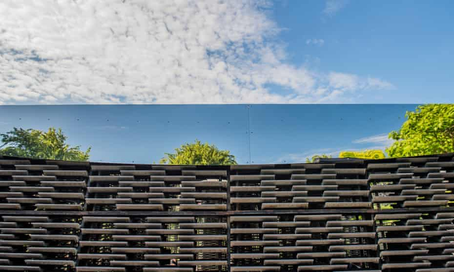 Holds it own … the 2018 Serpentine Pavilion.