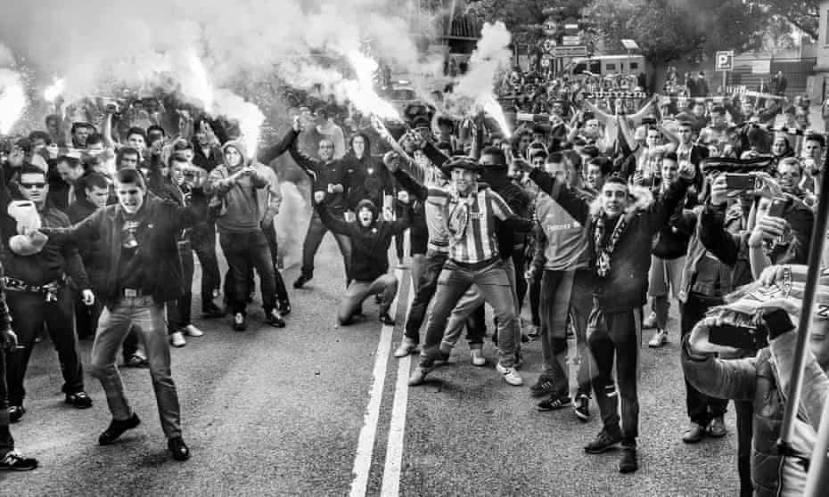 Supporters of Athletic Bilbao
