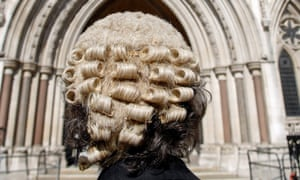 Only 6% of barristers have working class origins.