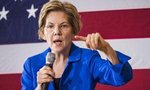 Elizabeth Warren, senator for Massachusetts.