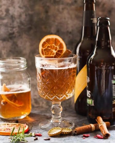 Gemma Simmonite's mulled beer.