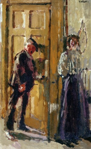 Off to the Pub (The Week-End), 1912 by Walter Sickert.