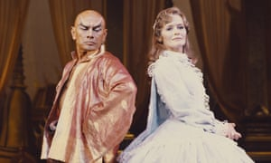 Brynner returned to the role on Broadway and in London, as seen here, in the 1970s – and then again on Broadway in 1985.