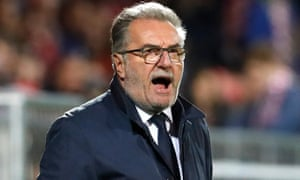 Ante Cacic has been axed by Croatia.