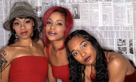 'My god, this is perfect' … TLC; from left, the late Lisa 'Left Eye' Lopes, Tionne 'T-Boz' Watkins and Rozonda 'Chilli' Thomas.