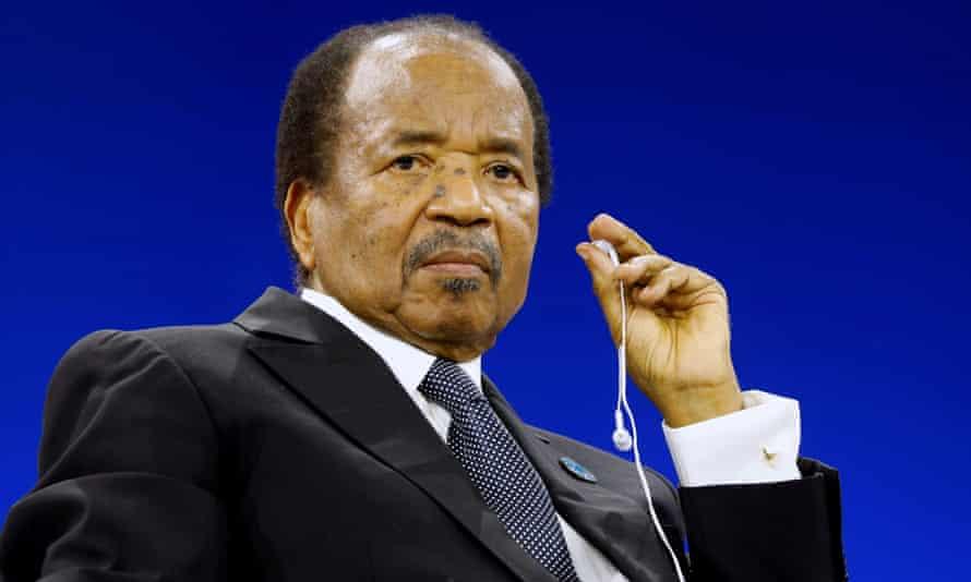 Cameroon's president, Paul Biya.