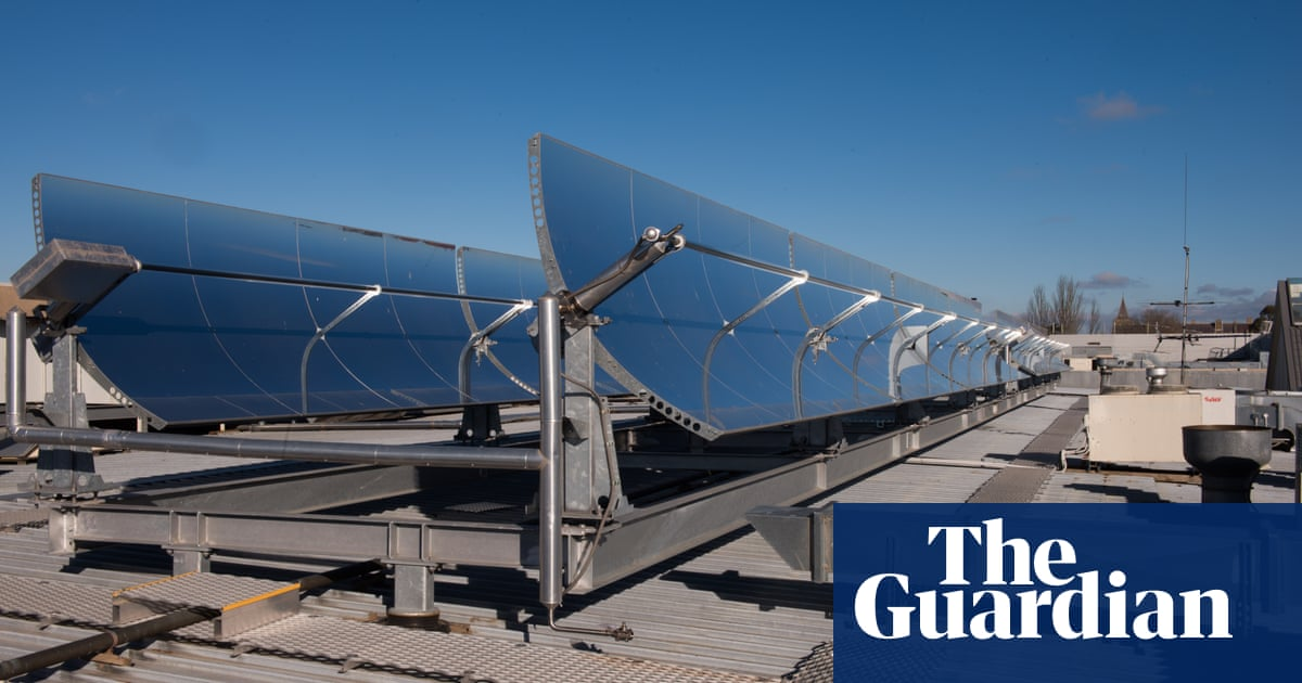 Solar cooling systems take heat out of summer's hottest days