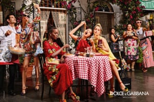 Dolce & Gabbana's spring/summer 2016 campaign
