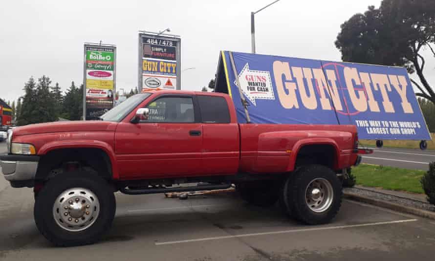 Gun City in Christchurch days after the New Zealand terror attacks.
