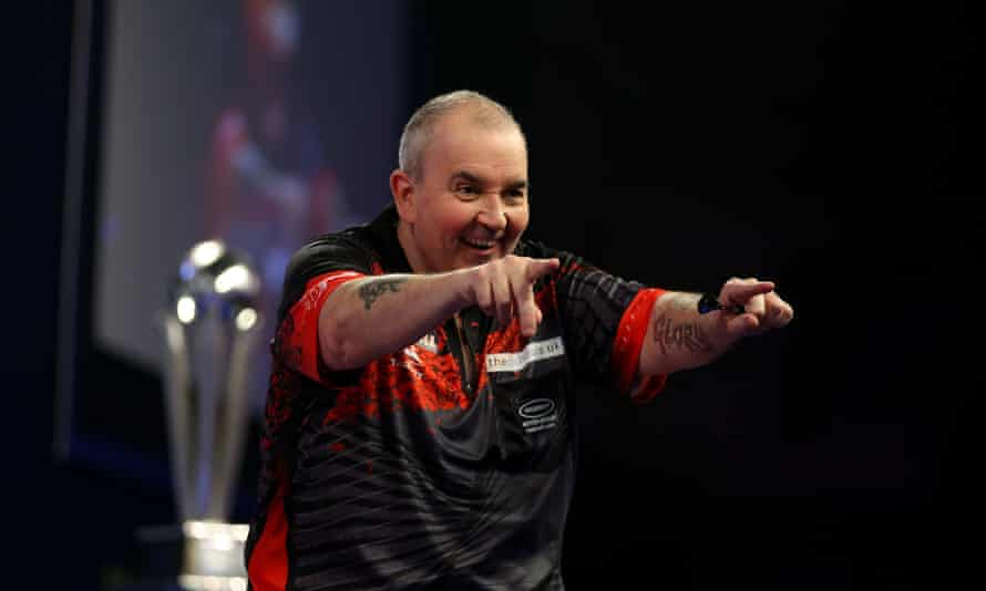 Phil Taylor said after his world darts final defeat by Rob Cross in his final match of a glorious career: 'The only tear in my eye is tears of joy. I'm ready to move on.'