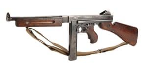 Captain Miller's (Tom Hanks) live-fire Thompson sub-machine gun from Steven Spielberg's World War II drama Saving Private Ryan. Estimate: £20,000 -£30,000