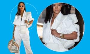 In the bag … Rihanna.