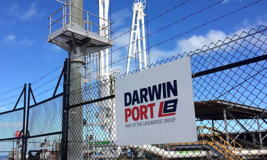 The Department of Defence is reviewing the Chinese-owned company, Landbridge Group's $500m long-term lease on the Port of Darwin.