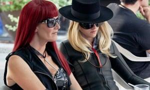 Laura Dern and Kristen Stewart in disguise in Jeremiah Terminator LeRoy.