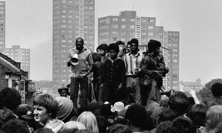 'It feels like they wanted to purge us from the streets' ... Uprising explores the racism that was rife in Britain in the early 80s.