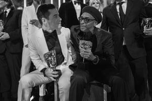 Rami Malek and Spike Lee
