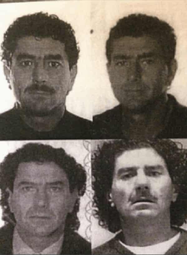Photos from Antonino Quinci's various identification documents