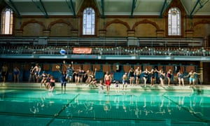 The gala pool at Victoria Baths in Manchester