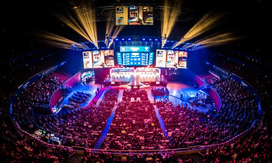 eSports were recognised by the IOC last year and featured as a demonstration event at this year's Asian Games.