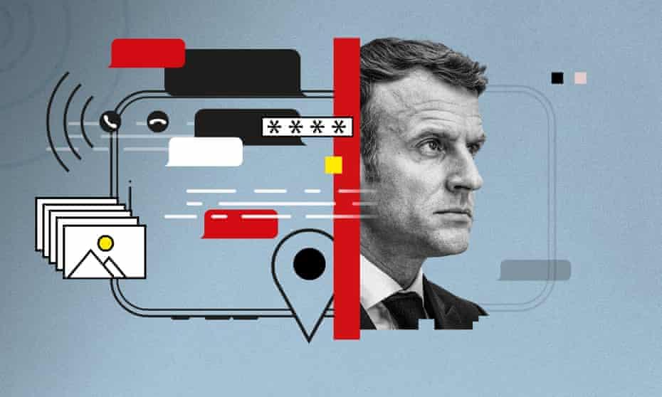 Macron graphic