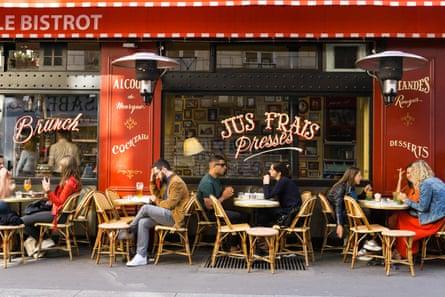 Go solo in a bistro in Paris.