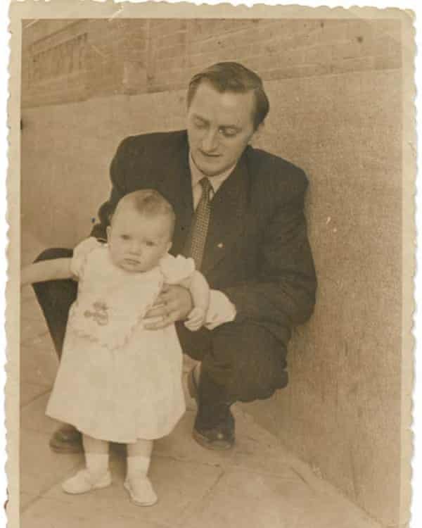 Yvonne Roberts and father John